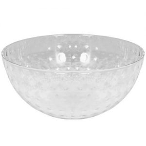 Dimple Bowl – 96 oz – TRANSPARENTE