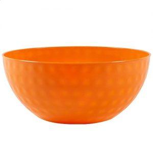 Dimple Bowl – 96 oz – NARANJA