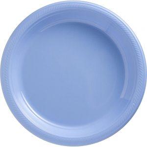 Plato Grande/Dinner – 20 pzas – AZUL CIELO