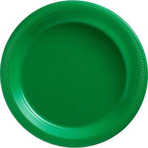 Plato Grande/Dinner – 20 pzas – VERDE BANDERA
