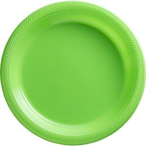 Plato Grande/Dinner – 20 pzas – VERDE LIMON