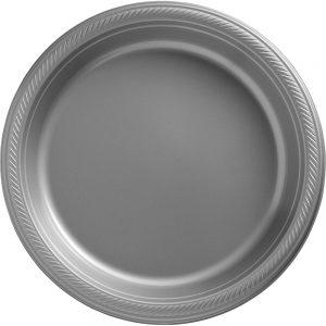 Plato Grande/Dinner – 20 pzas – PLATA