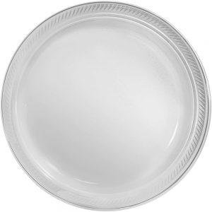 Plato Grande/Dinner – 20 pzas – TRANSPARENTE