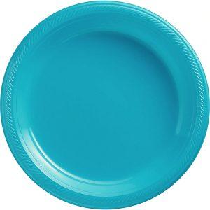 Plato Grande/Dinner – 20 pzas – AZUL ACUA