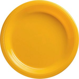 Plato Grande/Dinner – 20 pzas – AMARILLO