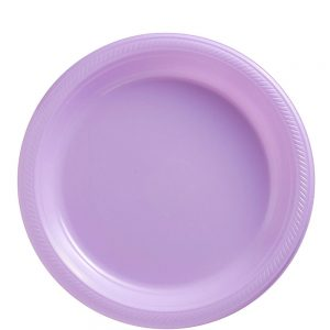 Plato Mediano/Salad – 20 pzas – LILA