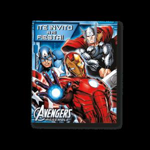 Avengers – Invitación