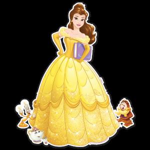 Princesas – Bella – Adorno Móvil