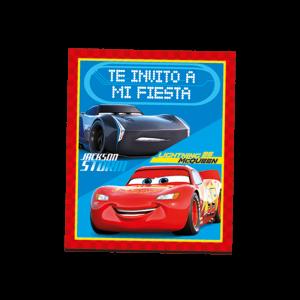 Cars – Invitación
