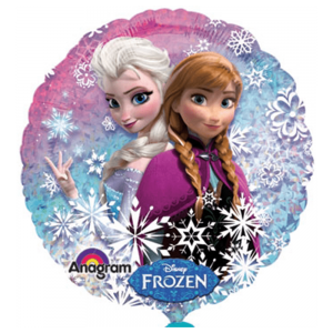 Frozen – Globo 18in Elsa y Ana Snowflakes