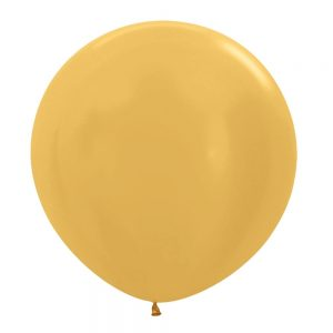 Globo Latex – Dorado – 3 pies