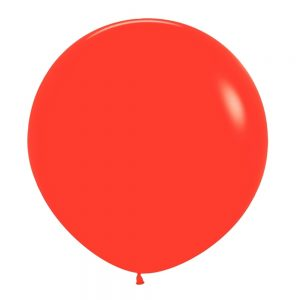 Globo Latex – Rojo – 3 pies