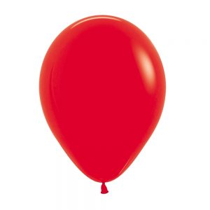 Globo Latex – Rojo – 12in