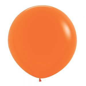 Globo Latex – Naranja – 3 pies