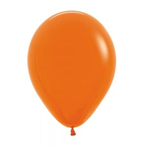 Globo Latex – Naranja – 12in
