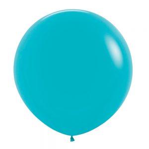 Globo Latex – Azul Caribe – 3 pies