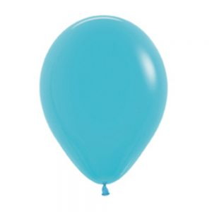 Globo Latex – Azul Caribe – 12in
