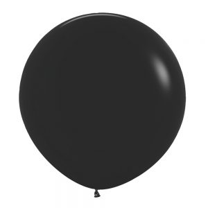 Globo Latex – Negro – 3 pies