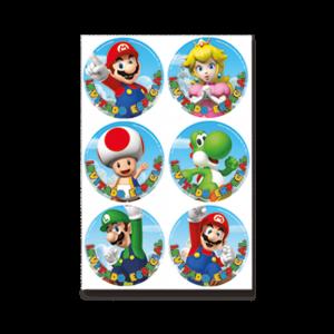 Mario Bros – Distintivo