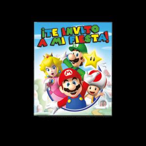 Mario Bros – Invitación