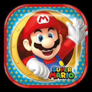 Mario Bros – Plato 9in