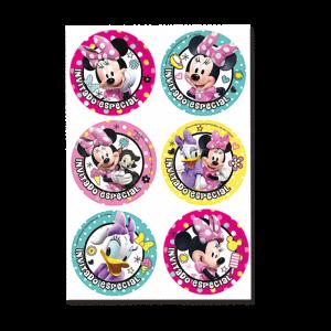 Minnie Mouse – Distintivos
