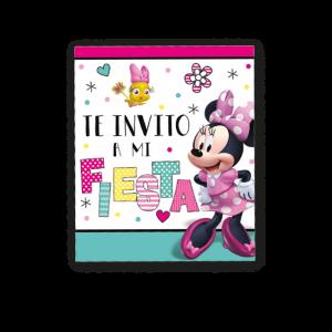 Minnie Mouse – Invitación