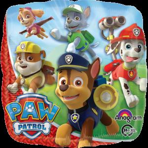 Paw Patrol – Globo Cuadrado 18in