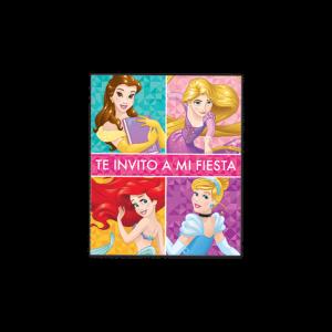 Princesas – Invitación