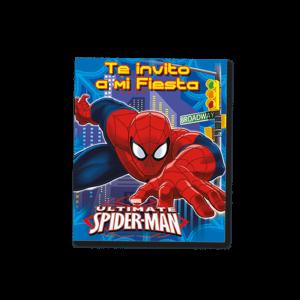 Spiderman – Invitación
