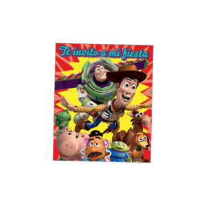 Toy Story – Invitación