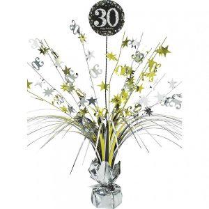 30 Años Sparkling Celebration Centro de Mesa