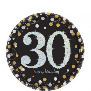 30 Años Sparkling Celebration Platos Postre