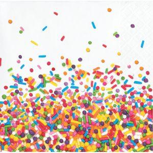 Sprinkles Birthday Servilleta Coctel