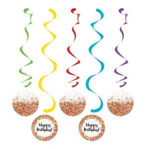Sprinkles Birthday Espirales