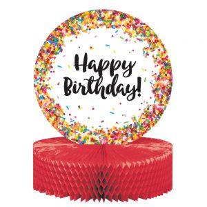 Sprinkles Birthday Centro de Mesa