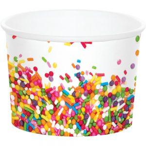 Sprinkles Birthday Treat Cups