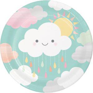Cloud Shower Plato Lunch