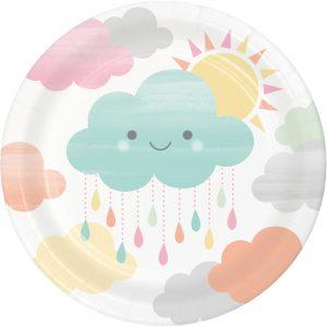 Cloud Shower Plato Postre