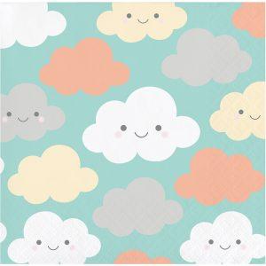 Cloud Shower Servilleta Coctel