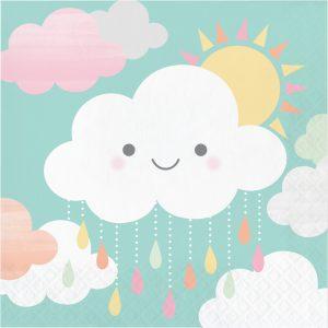 Cloud Shower Servilleta Lunch