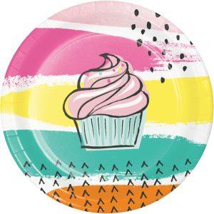 Chic Cupcake Plato Postre