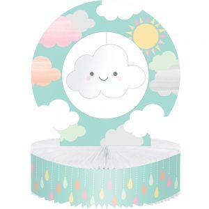 Cloud Shower Centro de Mesa