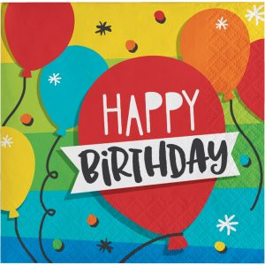 Hoppin' Birthday Servilleta Coctel