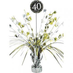 40 Años Sparkling Celebration Centro de Mesa