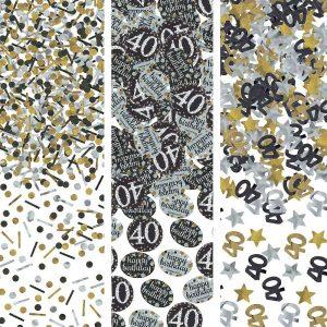 40 Años Sparkling Celebration Confetti