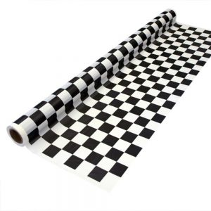 Black Checker – Mantel Cuadrado/Rectangular