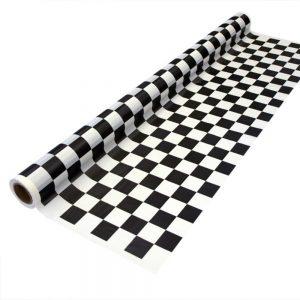 Black Checker – Mantel Cuadrado/Rectangular