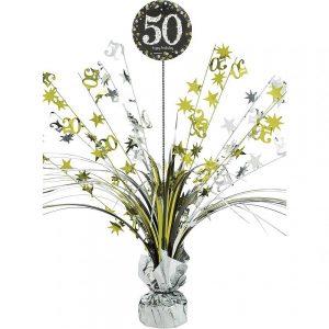 50 Años Sparkling Celebration Centro de Mesa