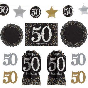 50 Años Kit Sparkling Celebration Room Decor